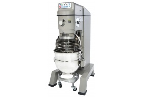 Globe 60 Quart Planetary Pizza Floor Mixer