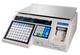 CAS Label Printing Scale (30 LB)
