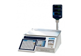 CAS LP-1000NP Label Printing Scale (30 LB)