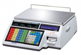 CAS CL-5000 Label Printing Scale (30 LB & 60 LB)